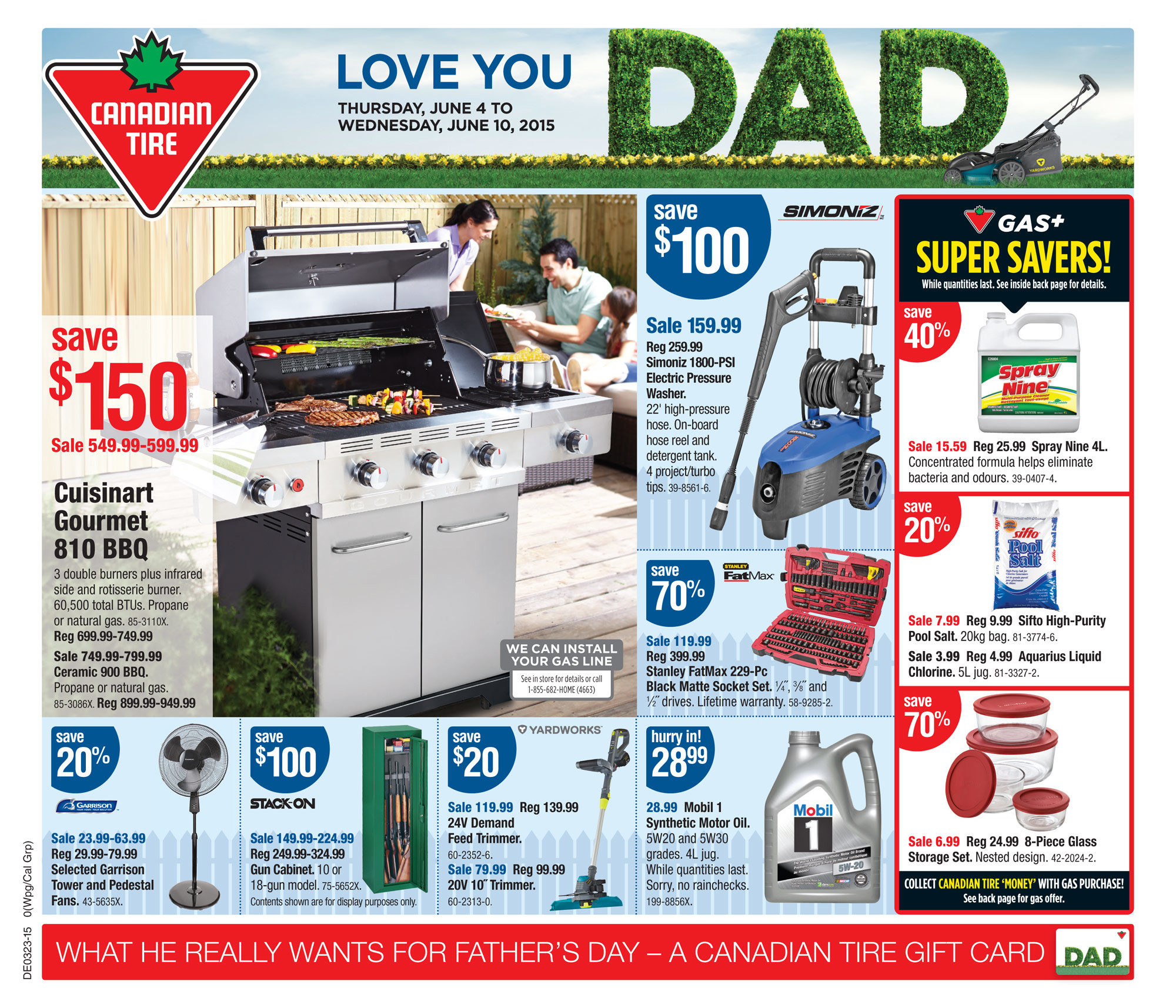 canadian tire weekly flyer weekly flyer jun 4 10