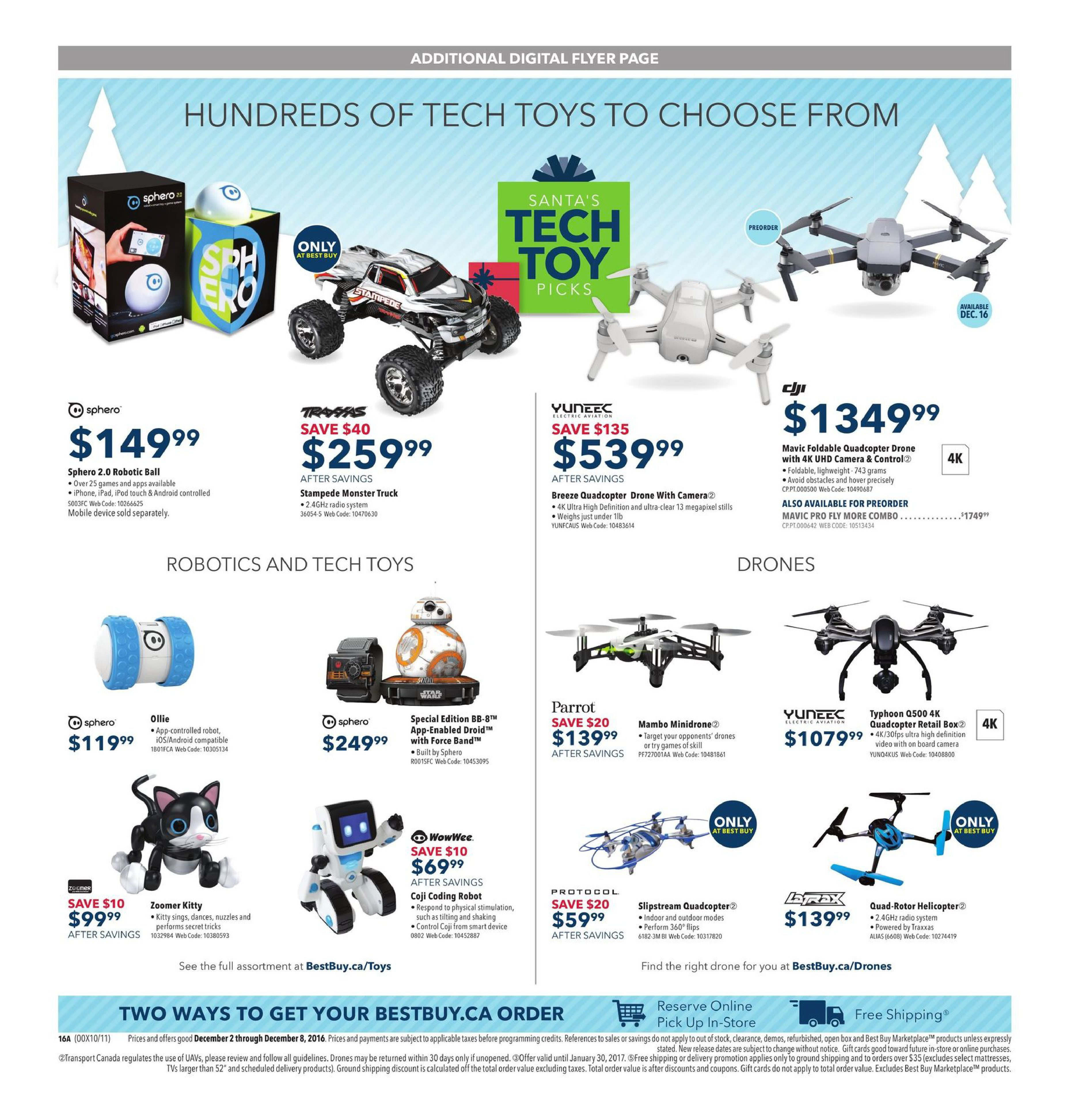 Best Buy Weekly Flyer Wrap Up 4k Give Four Times The Imageup To 100w Inverter 12 V 220v Circuit Homepage Excitement Dec 2 8