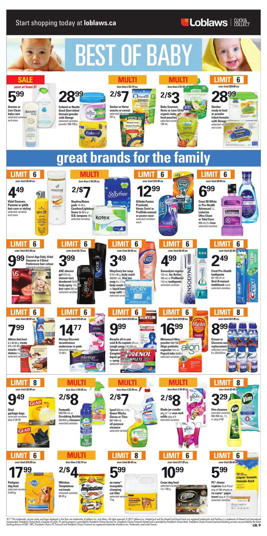 Loblaws Weekly Flyer Jan 19 25 Diamond Plain Fresh Milk 949 Ml