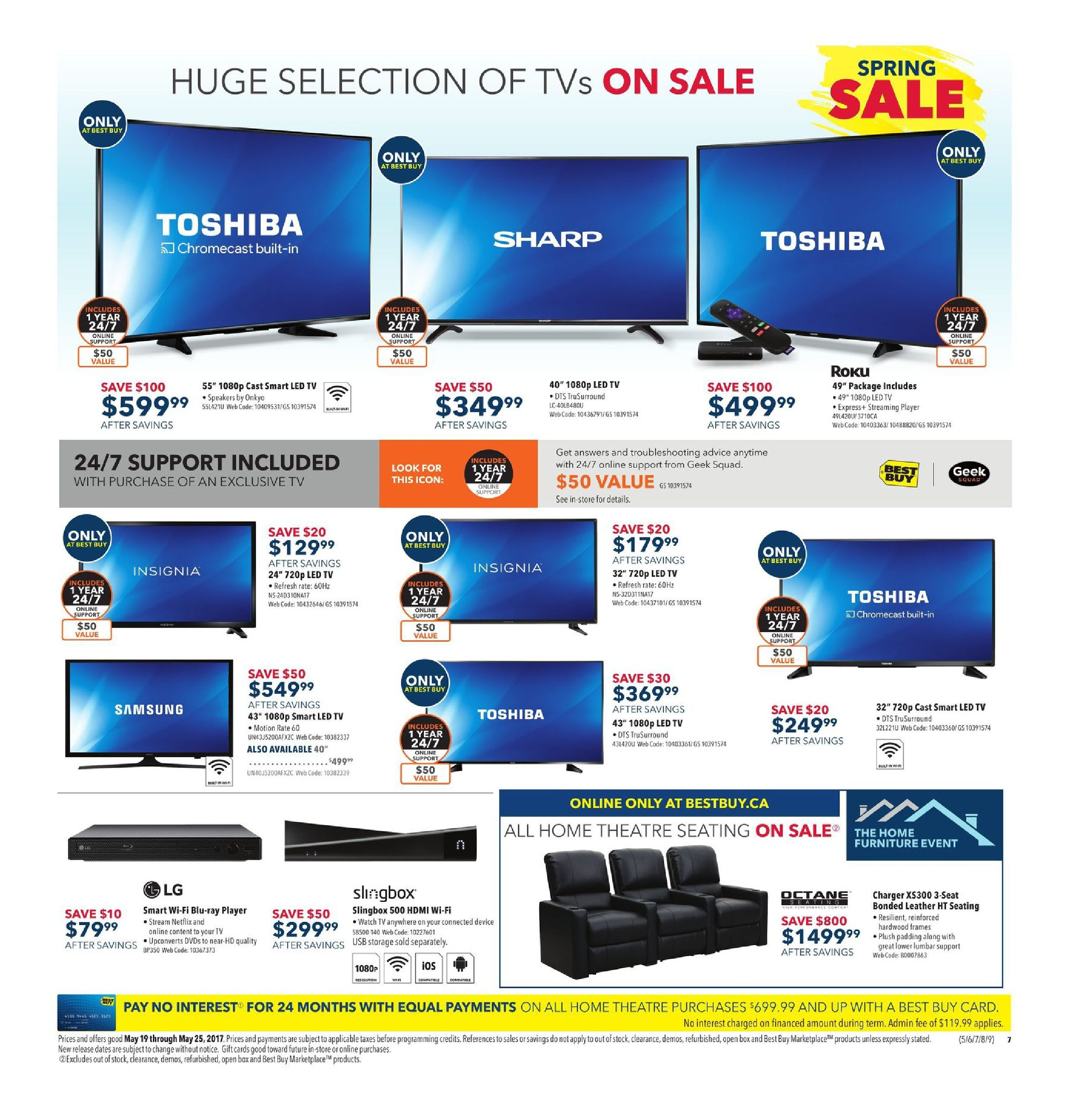 85b12425e31 Best Buy Weekly Flyer - Weekly - Spring Sale - May 19 – 25 -  RedFlagDeals.com
