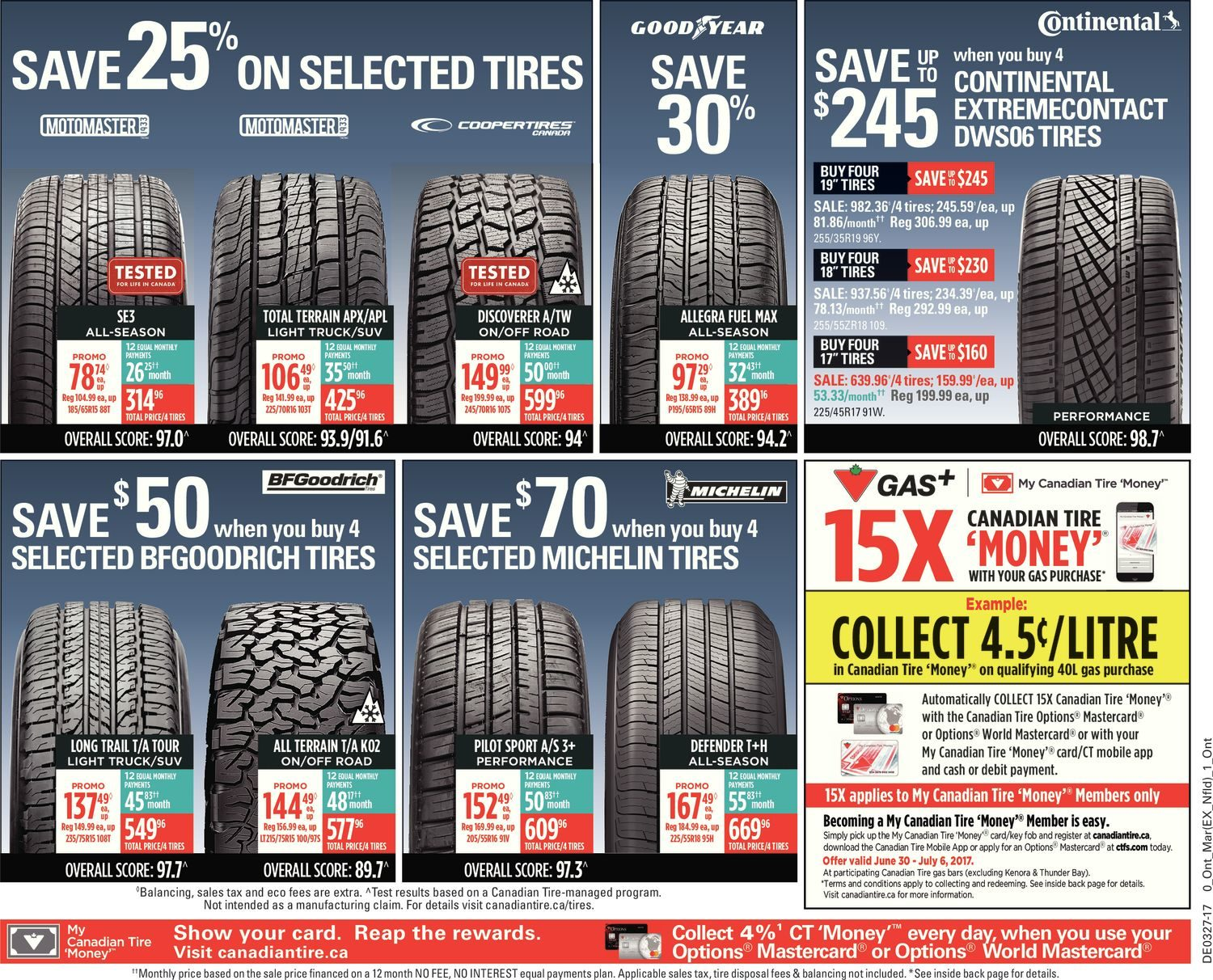 Canadian Tire Weekly Flyer - Weekly - Let\'s Celebrate Canada 150 ...