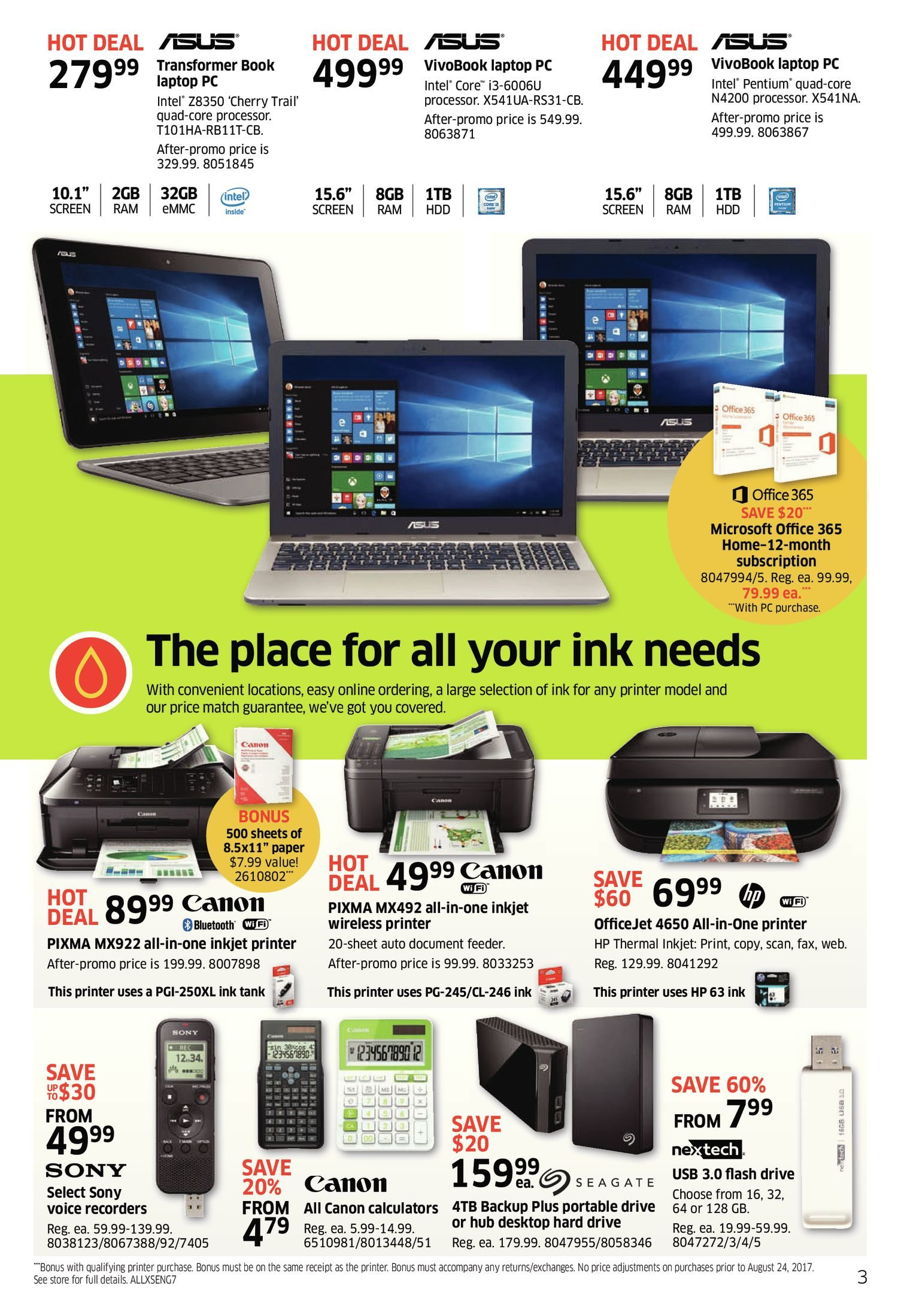 The Source Weekly Flyer - Back to School Tech Event - Aug 24