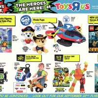 Toys R Us - Weekly - Villains Beware, The Heroes Are Here! Flyer