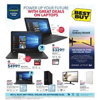 Best Buy - Weekly - Upgrade Your School Year Flyer