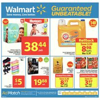 Walmart - Weekly - Guaranteed Unbeatable! Flyer
