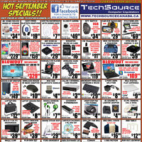 Tech Source - Hot September Specials!! Flyer