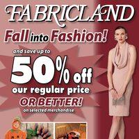 fabricland flyer brampton on. Black Bedroom Furniture Sets. Home Design Ideas