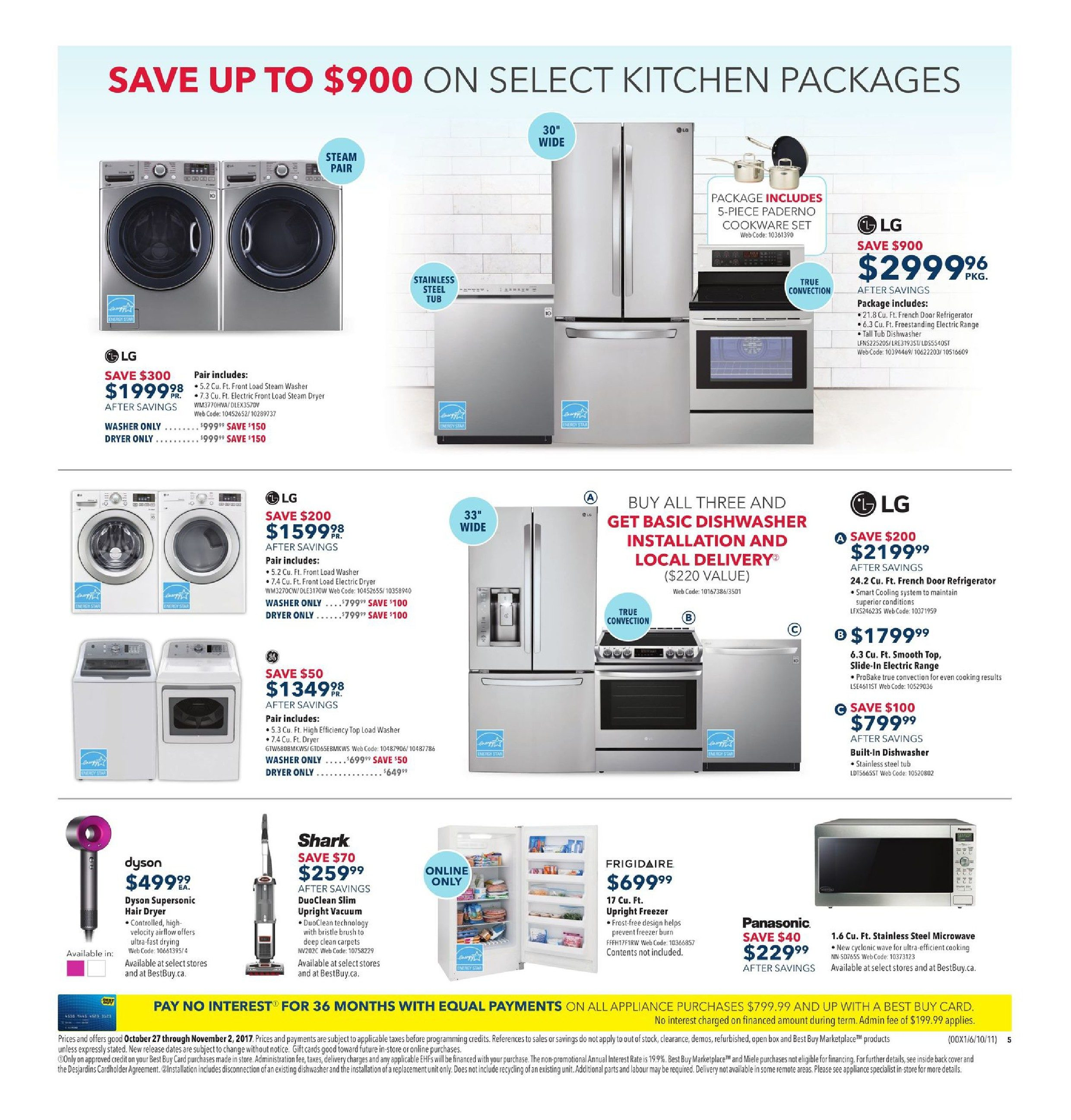 Best Buy Weekly Flyer - Weekly - Experience Great Home Theatre Deals