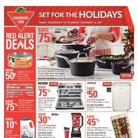 Canadian Tire - Weekly - Set For The Holidays Flyer