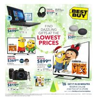 Best Buy - Weekly - Find Dazzling Gifts Flyer