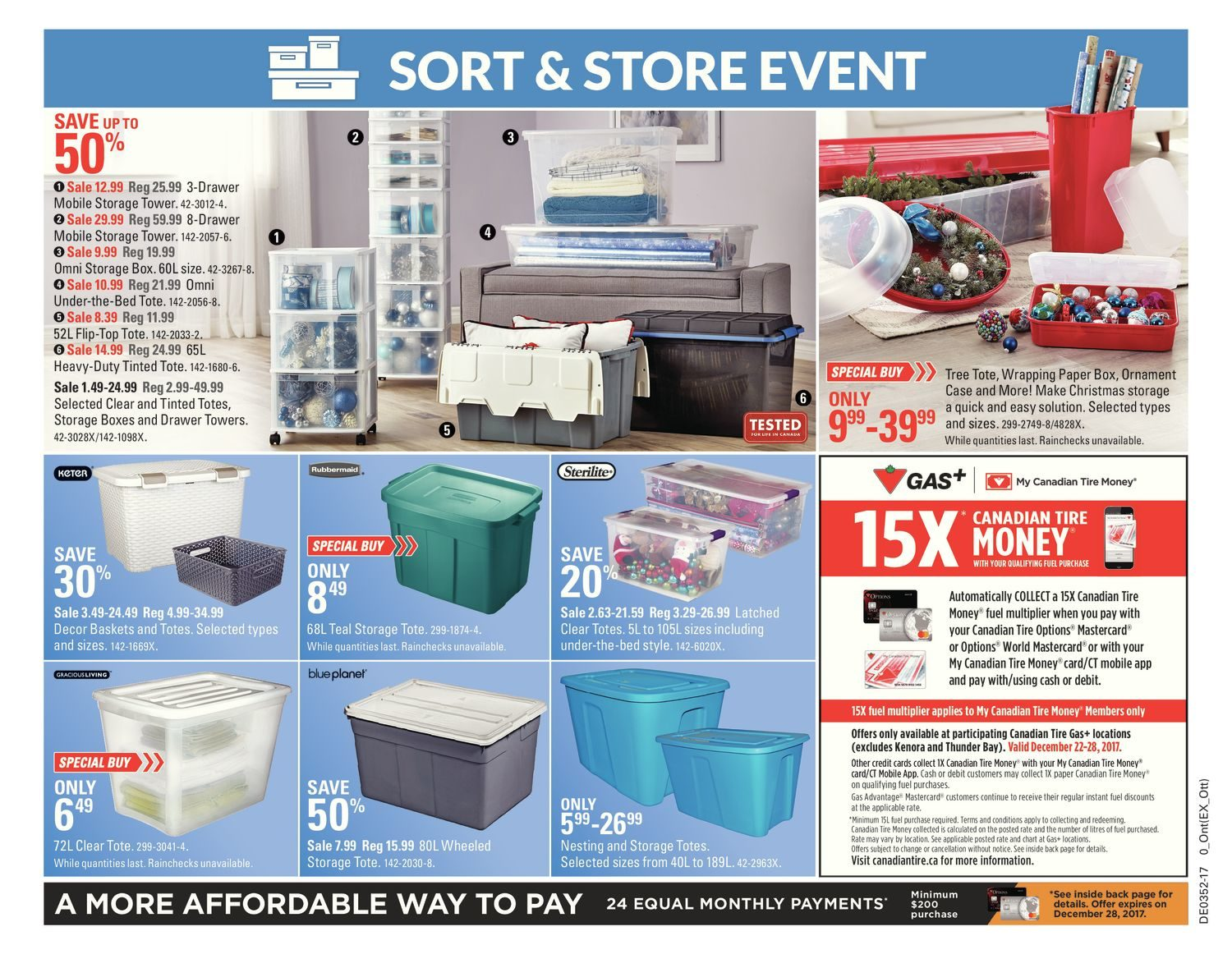 Canadian Tire Weekly Flyer - Weekly - Boxing Week Deals! - Dec 22 ...