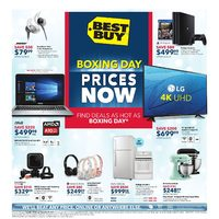 Best Buy - Weekly - Boxing Day Prices Now Flyer