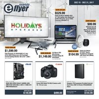 Newegg - e-Flyer - Holidays Upgraded Flyer