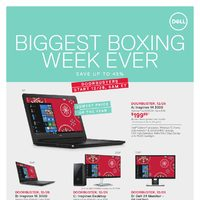 Dell - Biggest Boxing Week Ever Flyer