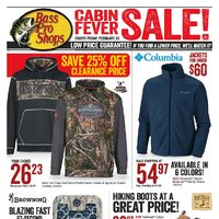 Bass Pro Shops - Cabin Fever Sale! Flyer