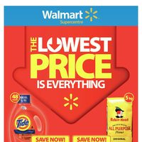 - Supercentre - The Lowest Price is Everything Flyer