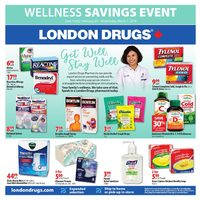 London Drugs - Wellness Savings Event Flyer