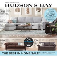 The Bay - Weekly - The Best In Home Sale Flyer