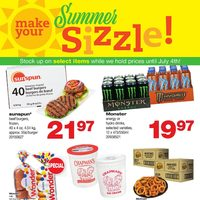 Wholesale Club - Make Your Summer Sizzle! Flyer
