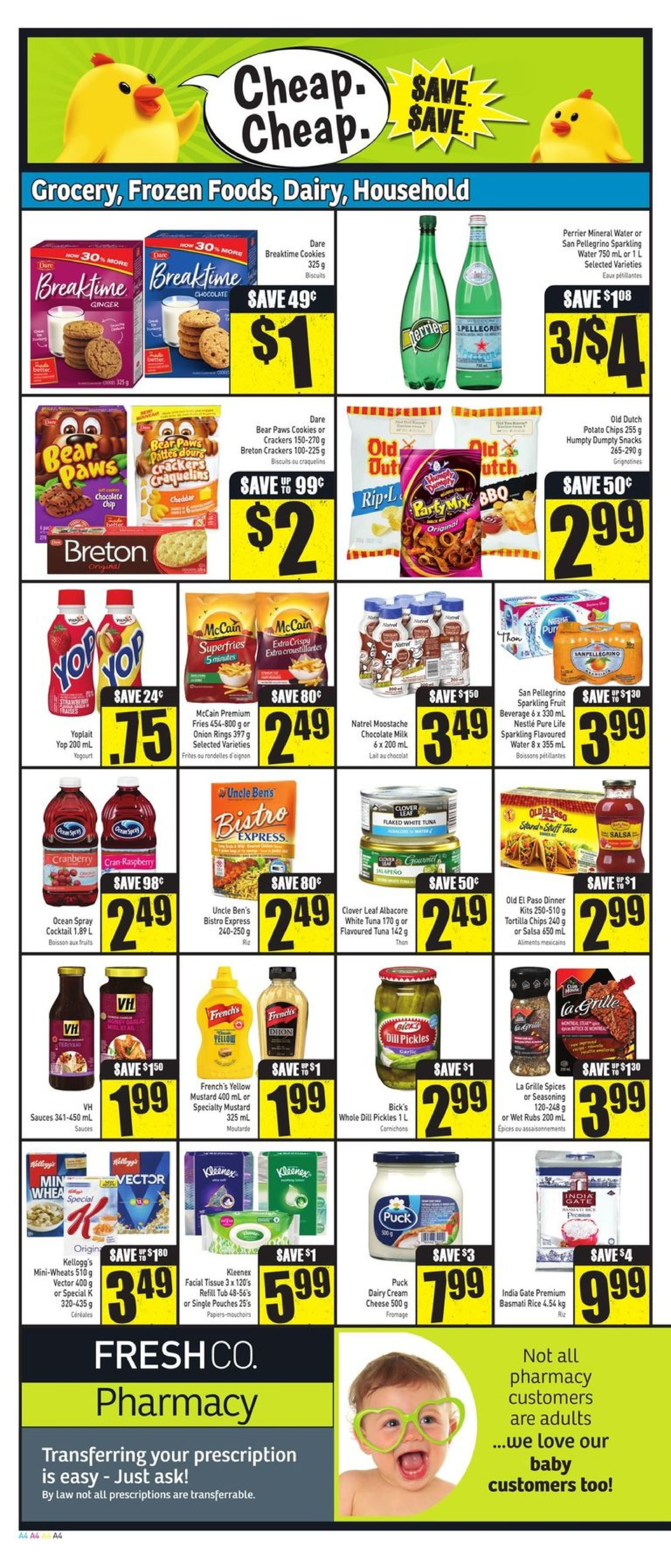 Fresh Co Weekly Flyer 88 Sale May 24 30 Minute Maid Homestyle Orange 1l