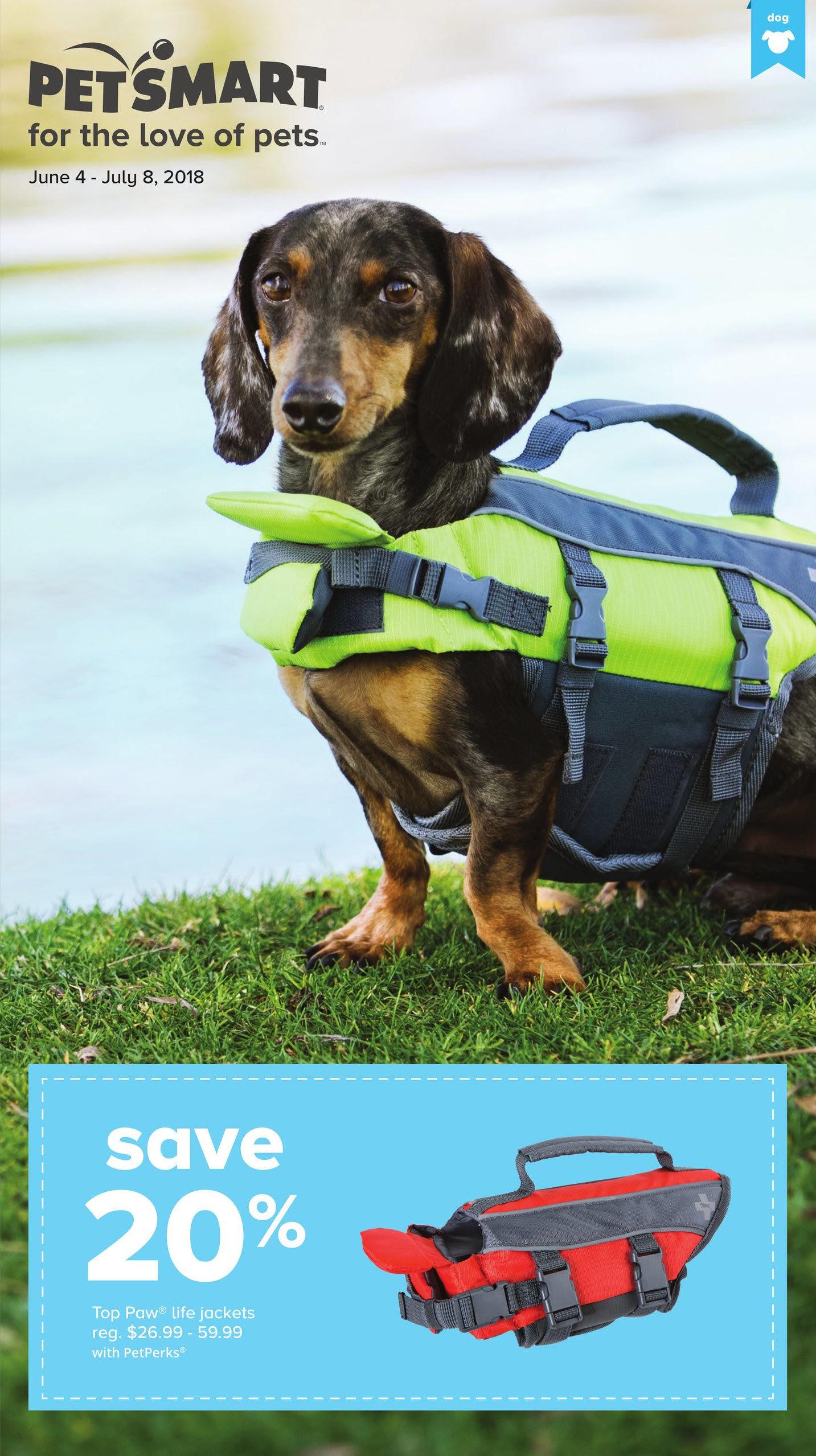 Petsmart Weekly Flyer For The Love Of Pets Jun 4 Jul 8 Redflagdeals Com