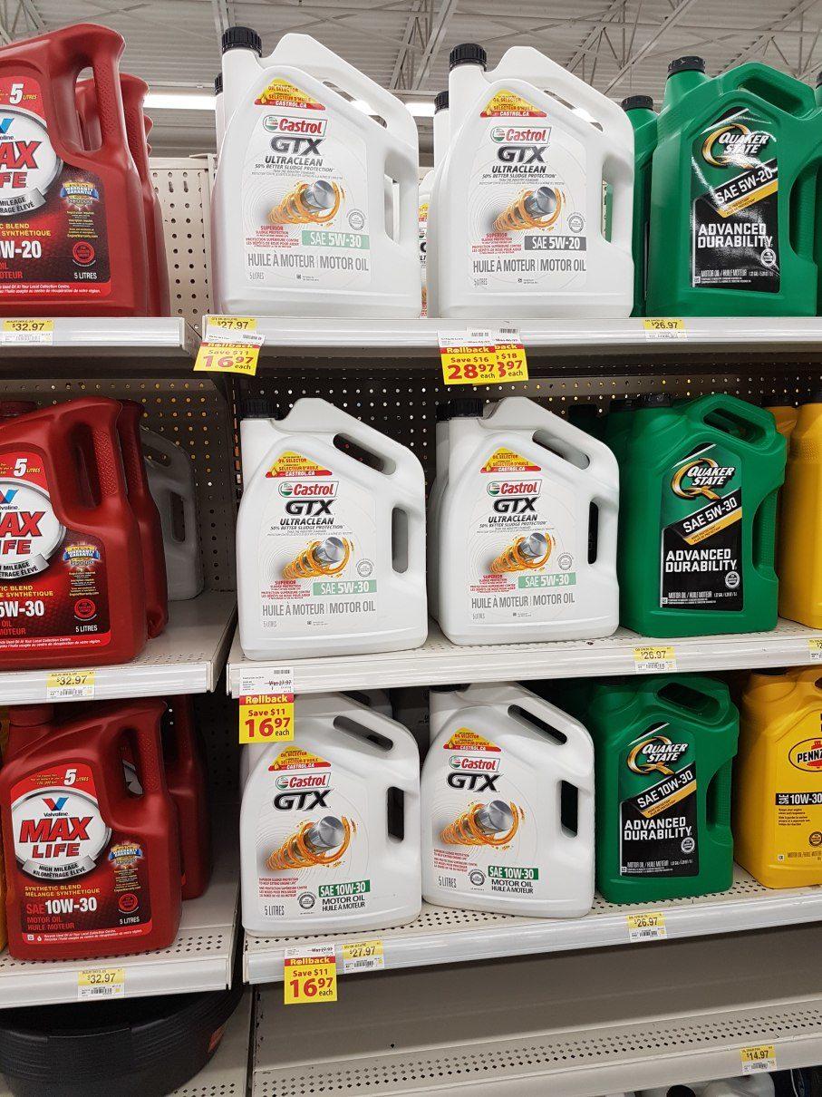 Walmart] Castrol Motor Oil $16 97 5 Liter jug - RedFlagDeals