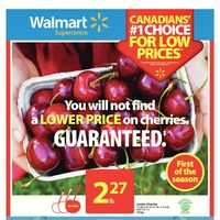 Walmart - Supercentre - Get Set For Canada Day Long Weekend Flyer