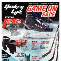 Pro Hockey Life - Game On Sale Flyer