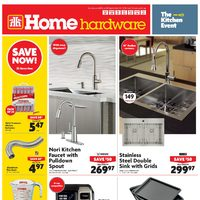 Home Hardware - Weekly - The Kitchen Event Flyer