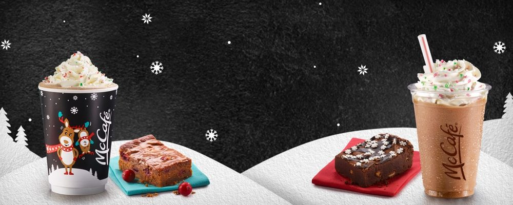 McDonald's Canada Releases New Holiday Cup Designs and Seasonal Menu Items