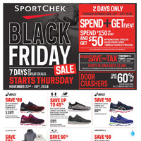 Sport Chek - Black Friday Sale - GTA Version Flyer