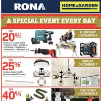 - Home & Garden - A Special Event Every Day Flyer