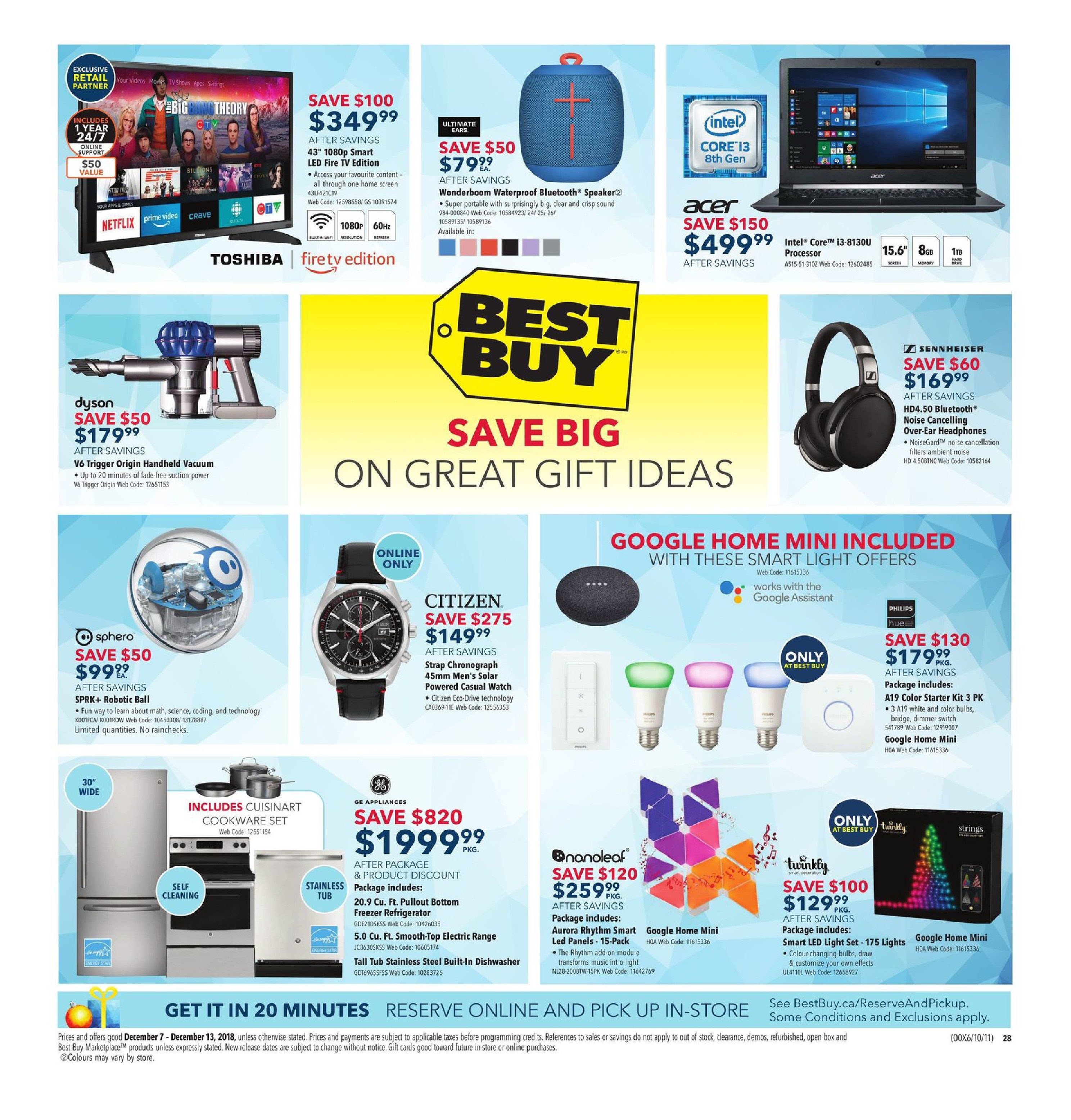 Cool Best Buy Weekly Flyer Weekly Holiday Gift Sale Dec 7 Gmtry Best Dining Table And Chair Ideas Images Gmtryco