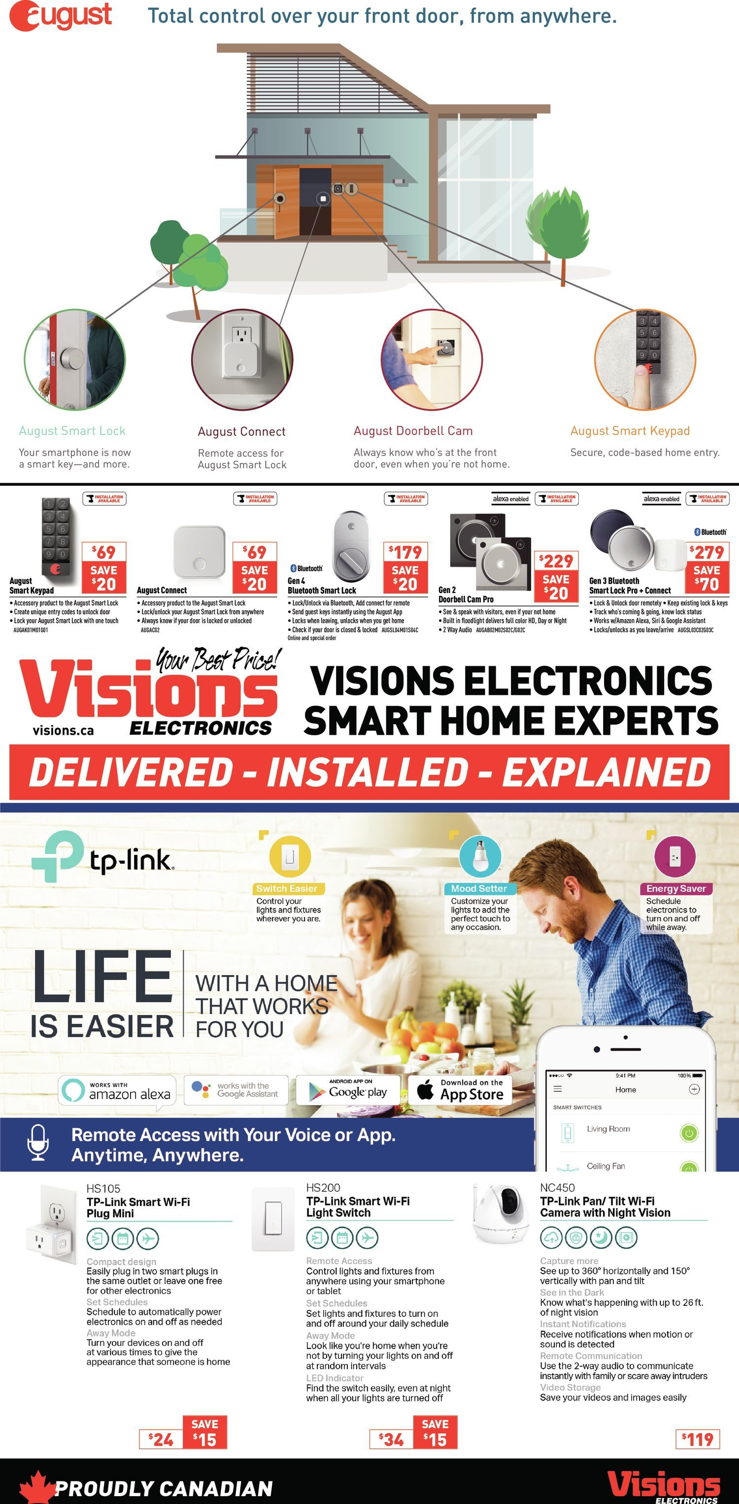 Visions Electronics Weekly Flyer - Ontario Only - Boxing Day Starts