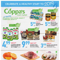Coppa's Fresh Market - 2 Weeks of Savings - Celebrate A Healthy Start To 2019 Flyer
