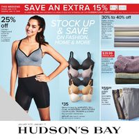 The Bay - Weekly - Stock Up & Save Flyer