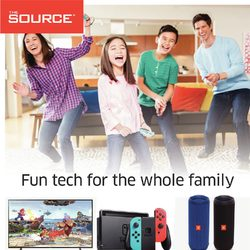 The Source - 2 Weeks of Savings - Fun Tech For The Whole Family Flyer