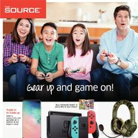 The Source - Weekly - Gear Up and Game On! Flyer