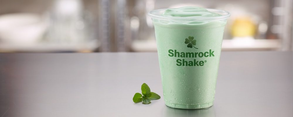 The Shamrock Shake Returns to McDonald's Canada for a Limited Time Only