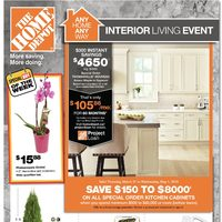 Home Depot - Weekly - Interior Living Event Flyer