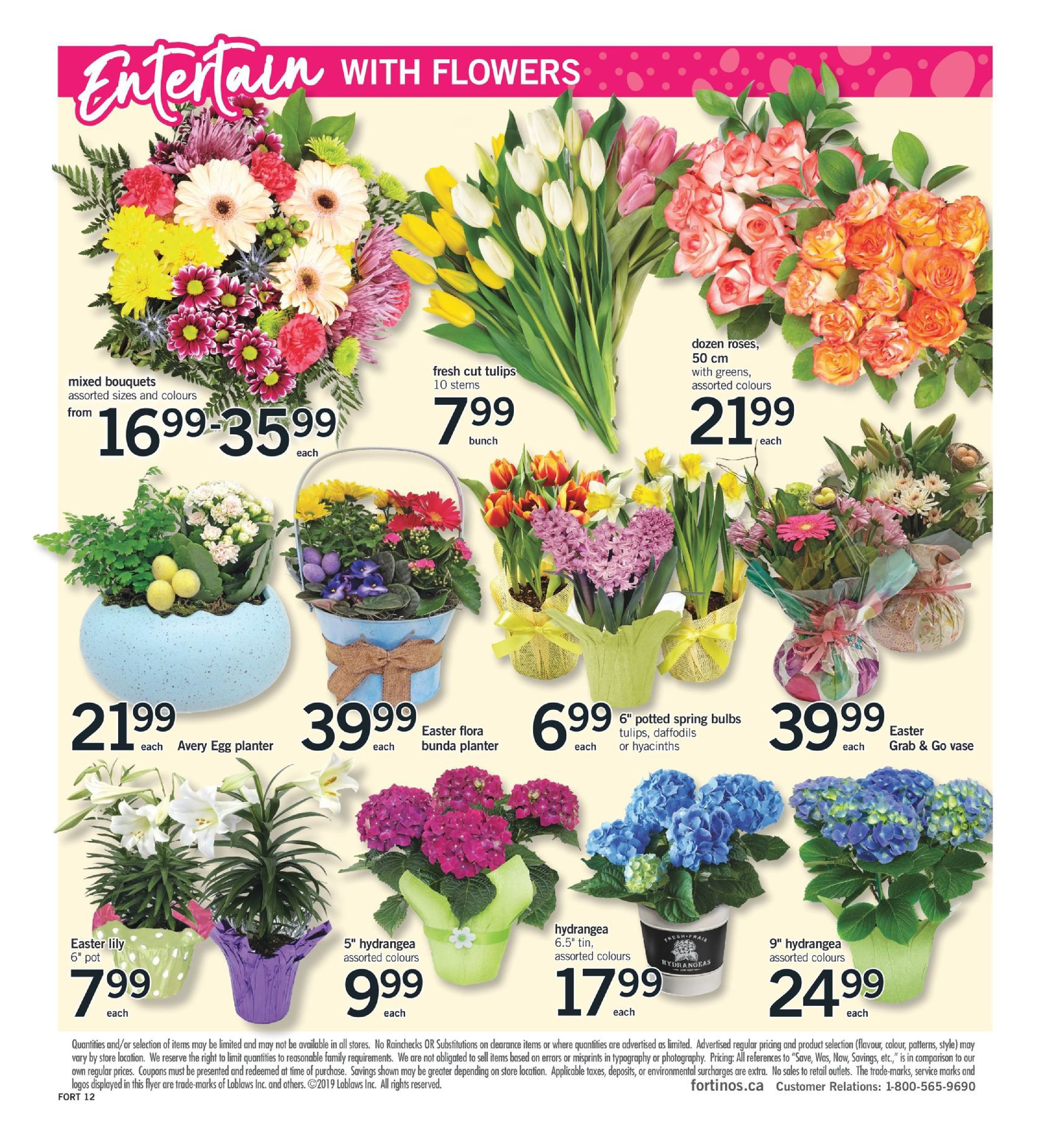 Fortinos Weekly Flyer - Weekly Specials - Apr 11 – 17 - RedFlagDeals com