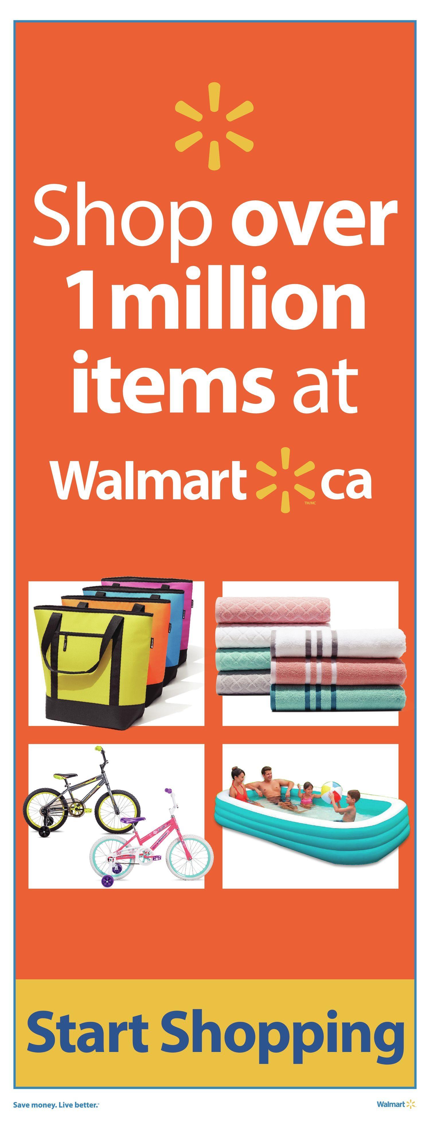 Walmart Weekly Flyer - Supercentre - Guaranteed Unbeatable