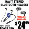 Havit Stereo Bluetooth Headset