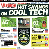 - Weekly - Hot Savings on Cool Tech Flyer