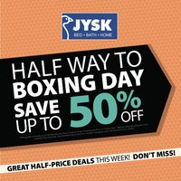 JYSK - Weekly - Half Way to Boxing Day Flyer