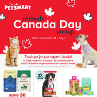PetSmart - Celebrate Canada Day Savings Flyer