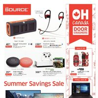 - Summer Savings Sale Flyer