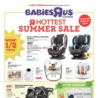 Babies R Us - 2 Great Weeks! - Hottest Summer Sale Flyer