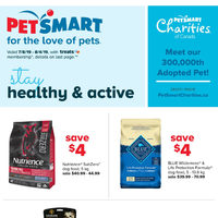 PetSmart - For the Love of Pets - Stay Healthy & Active Flyer