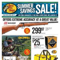 Bass Pro Shops - Summer Savings Sale! Flyer